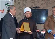 أسامة الأزهري في حفل مجلس الدولة: مصر تفخر بمؤسسة القضاء أمام العالم
