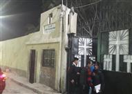 تشييع جثماني مسن ونجله ضحايا الإرهاب بسيناء من كنيسة الملاك ميخائيل