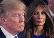 بالفيديو- لغة الجسد تكشف .. ترامب لا يحترم ميلانيا