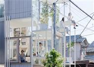بالصور- في اليابان.. منزل شفاف صديق للبيئة وضد الزلازل