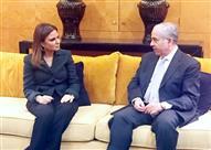 سحر نصر تعقد 7 لقاءات للتعرف على خطط المستثمرين اللبنانيين في مصر