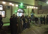 أهالي ناهيا من أمام مسجد ابو سنة مسقط رأس ابو تريكة