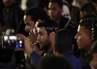 تشييع جثمان والد أبو تريكة بحضور سيد عبد الحفيظ واحمد حسن