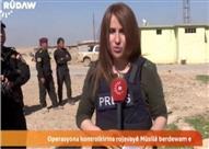 """مقتل مراسلة قناة """"روداو"""" الكردية شيفا غردي أثناء تغطيتها لعملية الموصل"""