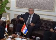 سفير باراجواي بالقاهرة يؤكد عمق العلاقات بين بلاده ومصر