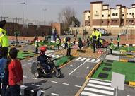 وزارة الداخلية تفتتح أول مدينة مرورية للأطفال في مصر.. صور