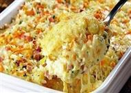 طريقة عمل الأرز بالفراخ والجبنة