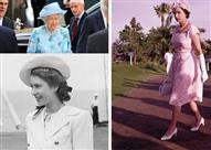 """على مر العصور كيف تغيرت إطلالات الملكة """"إليزابيث""""؟"""