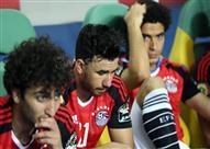 حزن لاعبي مصر بعد الخسارة أمام الكاميرون بنهائي إفريقيا
