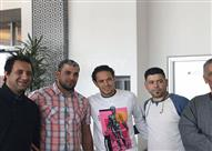 وصول إبراهيم صلاح لاعب الزمالك للإمارات استعداداً للسوبر المصري