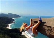 بالصور- الخدعة وراء هذه الصخرة فى البرازيل