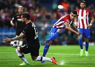 مباراة أتليتكو مدريد وباير ليفركوزن بدوري الأبطال