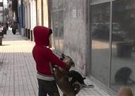 """بالفيديو - كواليس لقاء """"الراقص مع الكلاب"""" وشقيقه"""