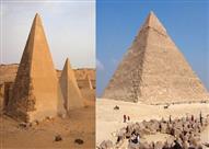 بعد الأزمة بين القاهرة والخرطوم.. هذه هي الفروق بين أهرام مصر وأهرام