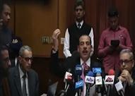 مؤتمر وزير الصحة لمناقشة إدعاءات التسمم الغذائي بشبرا الخيمة