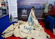 من الزعتري إلى دبي... ثوب عالمي من قماش خيمة عائلة لاجئة!