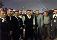 بالصور.. عمرو دياب ينشر صوراً جديدة في حفل زفاف أحد أعضاء فرقته