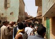 6 مصابين بينهم مجندان في فض تجمهر بقرية في الأقصر (صور)