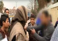حالة تحرش لسيدة أثناء تسجيل تقرير عن التحرش في سوق بالمطرية