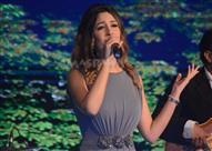 بالصور: جنات تحيي حفلا غنائيا بالتجمع الخامس بحضور نجوم الفن