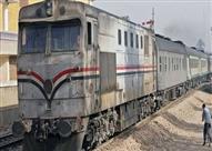 اصطدام قطار بلودر في محطة مصر وسط الإسكندرية