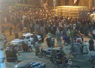 أهالي قرية يقطعون طريقًا رئيسيًا بقنا احتجاجًا على اختفاء طفل