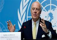 دي ميستورا يدعو روسيا وإيران وتركيا وقف العنف في سوريا