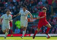 بالفيديو- جيرارد يقود أساطير ليفربول لقهر ريال مدريد برباعية