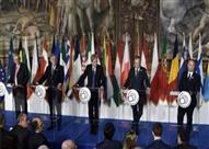 """قادة أوربيون يؤكدون """"وحدة صفهم"""" في الذكرى الستين لقيام الاتحاد الأوروبي"""