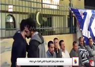 بالفيديو.. محمد صلاح يصل الغربية لتلقي العزاء في حماه