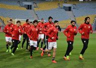 مران منتخب مصر استعداداً لمباراة توجو الودية
