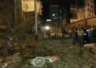مدير الحماية المدنية: 4 مصابين في انهيار عقار بمنطقة بولاق أبو العلا