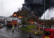 تقارير: إصابة 24 شخصا جراء انهيار عقار بشمال شرق انجلترا