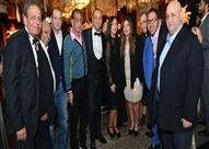 بالصور - حسن الرداد وصافيناز مع نجوم الفن في زفاف مصطفى السبكي