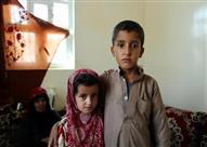"""فيديو- طفل يمني: """"جروحي تؤلمني"""""""