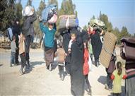 """الأمم المتحدة: نزوح نحو 40 ألفا معظمهم من النساء والأطفال قرب """"حماة"""""""