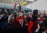 وصول بعثة الأهلي للكرة الطائرة لمطار القاهرة