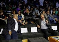 بالصور.. وزير الرياضة يحضر نهائي بطولة الجونة للإسكواش
