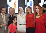 """بالصور- أحمد سعد يحتفل بـ""""على وضعك"""" بحضور """"النقيب"""" وريم البارودي"""
