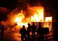 حريق بمخزن مواد غذائية في بولاق الدكرور.. والدفع بـ5 سيارات إطفاء