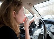 """للمصابين بـ""""حساسية الأنف"""".. استشارة الطبيب واجبة قبل قيادة السيارة"""