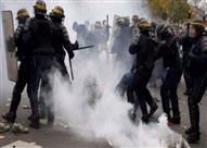 """اشتباكات بباريس بين """"مناهضين للفاشية"""" والشرطة بسبب نتائج الانتخابات الرئاسية"""