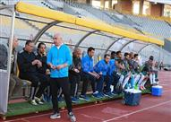 أزمة في مباراة الزمالك والمصري بطلها حسام حسن