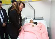 وزيرة التضامن: صرف 1.3 مليون جنيه تعويضات لمصابي تفجيري طنطا والإسكندرية
