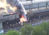 """مصدر أمني ينفي اندلاع حريق داخل محطة مترو """"كلية الزراعة"""""""