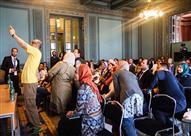 بالصور- للمرة الأولى.. تقنيات متطورة في الإعلام البصري بمنتدى الإسكندرية