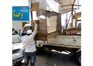 بالصور.. حملة لإزالة الإشغالات من الشوارع التراثية في الإسكندرية