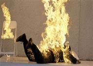 """انتقامًا لقتلاها.. """"الترابين"""" تشعل النيران في عنصر تكفيري"""