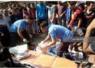 """تفاصيل مقتل أمين شرطة في """"عز النهار"""" أمام محطة مترو فيصل -(صور)"""