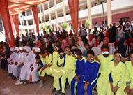 بالصور.. ألف طالب يشاركون في حفل ختام الأنشطة التربوية بأسوان